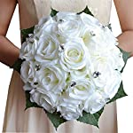USIX-Handmade-Romantic-Silk-Rose-Crystal-Lace-Bridal-Holding-Wedding-Bouquet-Green-Leaves-Decorated-Bouquet-Wedding-Flower-Arrangements-Bridesmaid-Bouquet-White