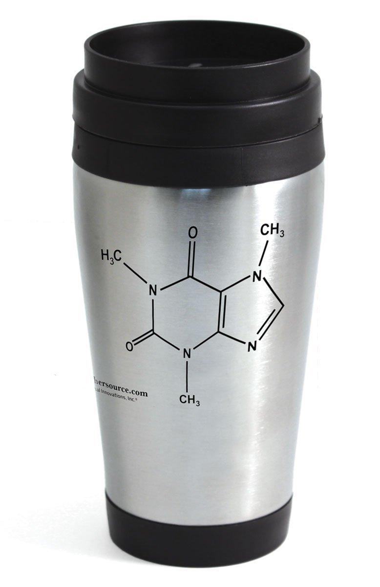 Amazon aladdin coffee mugs - Amazon Com Caffeine Travel Mug Stainless Steel Industrial Scientific