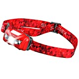 LED Headlamp 3 Modes Bright Lightweight Waterproof(IPX6) for Camping, Hiking, Reading