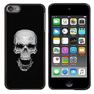 EJOOY---Cubierta de la caja de protección para la piel dura ** Apple iPod Touch 6 6th Touch6 ** --Vampiro Goth del cráneo