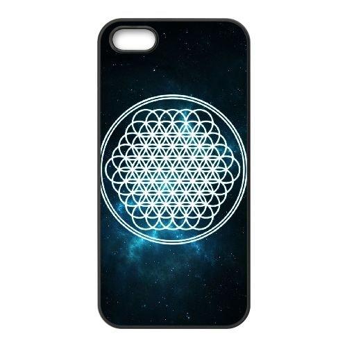 Bring Me The Horizon Deathbeds Lyrics Y7K32T5OO coque iPhone 5 5s case coque black 4230CS