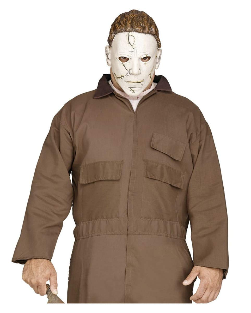 Horror-Shop Disfraz De Michael Myers con Máscara De PVC ...