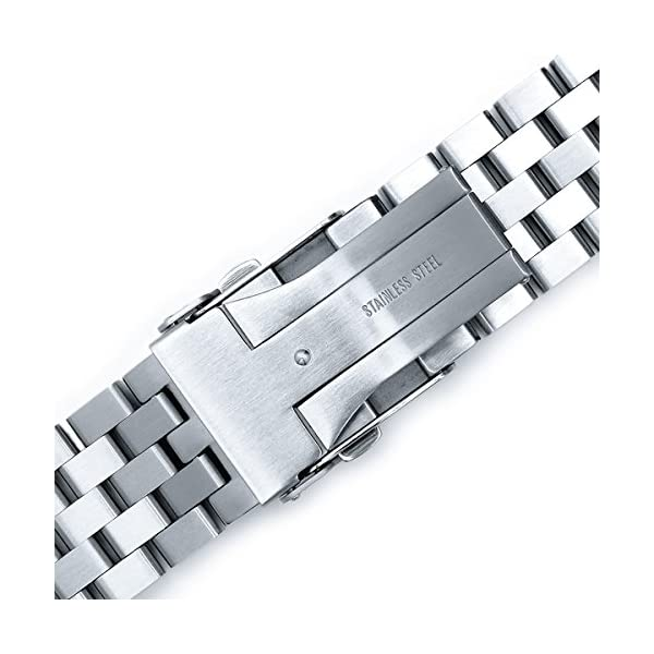 22mm-SUPER-Engineer-Type-II-Solid-Stainless-Steel-Curved-End-Watch-Band-fit-Seiko-skx007