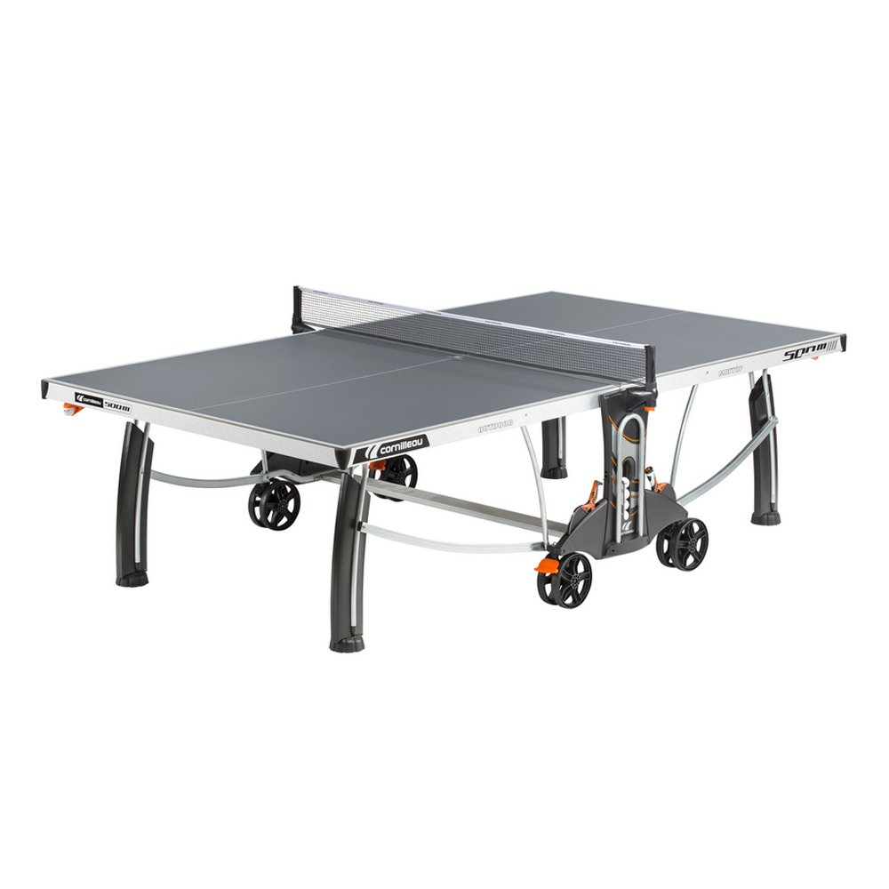 Cornilleau 500M Crossover Indoor/Outdoor Gray Table Tennis Table