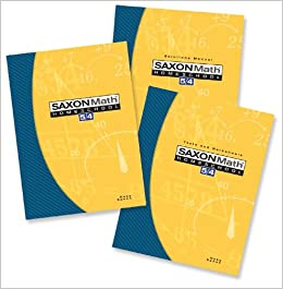 Buy Saxon Math Homeschool 5 / 4: 4th Grade Book Online at