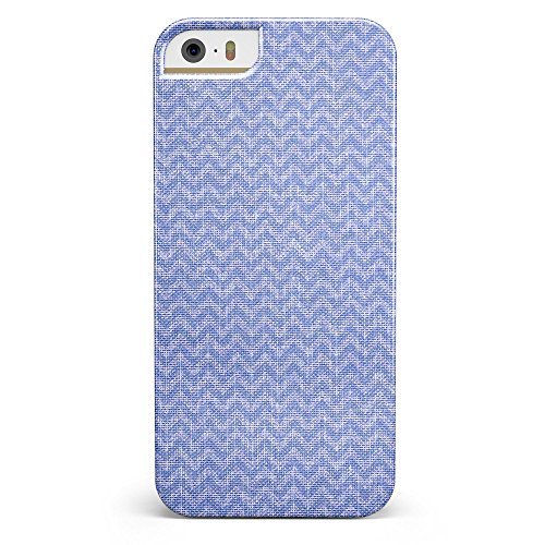 Sea Fabric Pattern iPhone 5/5s or iPhone SE - Ultra High Gloss INK-Fuzed Case (Deep Sea Blue Ink)