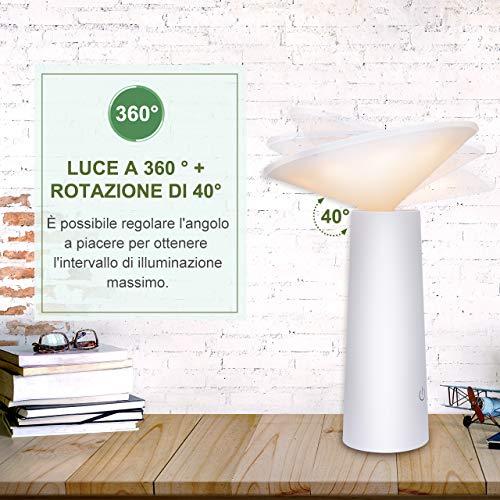 lampada scrivania 36 led usb atsui