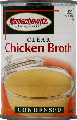 Manischewitz Chicken Broth 10.5 OZ(Pack of 12) ()