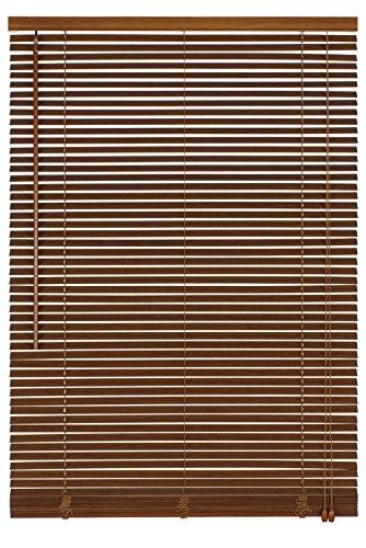 Gardinia 10007732 Holz-Jalousie 25 mm, 100 x 160 cm, eiche