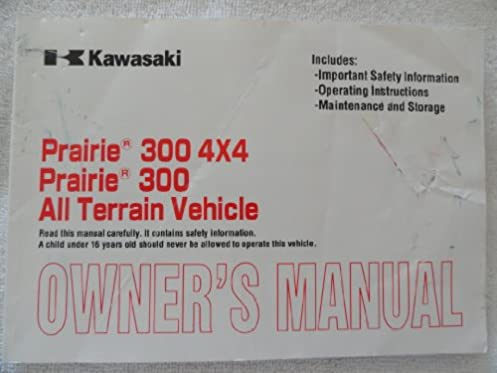 1999 kawasaki prairie 300 owners manual data wiring diagrams