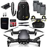DJI Mavic Air Onyx Black MaXX Mod Long Range Kit w/ Backpack, Remote, 3 Batteries, 64GB MicroSD, Battery Bank, & Landing Pad