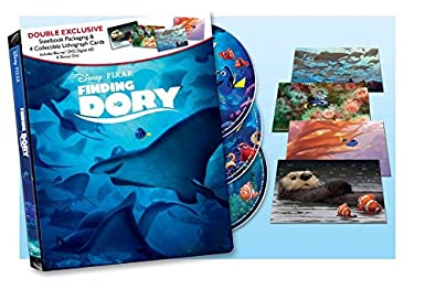 Amazon Com Finding Dory Double Exclusive Steelbook Packaging With 4