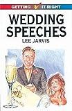 Wedding Speeches, Lee Jarvis, 0572017812