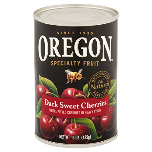 (Oregon Fruit Products Pitted Dark Sweet Cherries in Heavy Syrup -- 15 oz (Pack of 2))