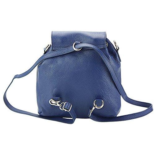 Multi À Leather Veritable Bleu Market Cuir Vachette fonctionel De Bougainvillea Dos Foncé En Sac 9119 Florence BwAaqHq