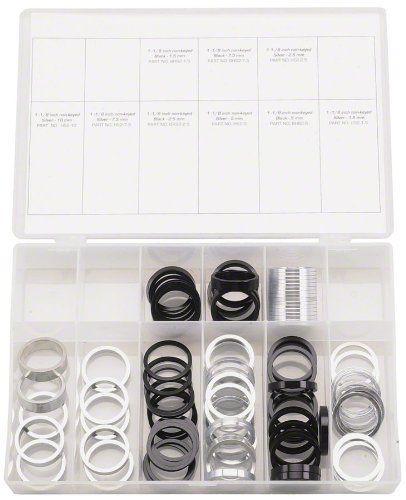Wheels Manufacturing Assorted Spacers Kit (105-Piece), 1-1/8-Inch by Wheels Manufacturing