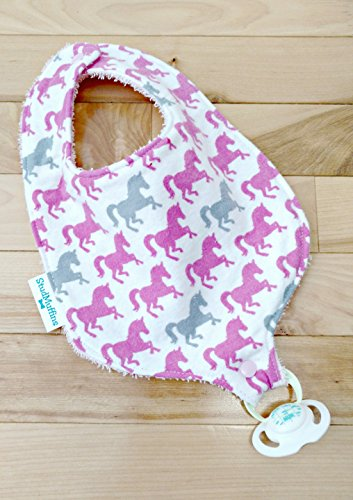 (Horse Pony Pacifier Binky Bib)
