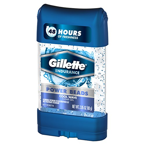 Gillette Clear Gel Power Beads Cool Wave Antiperspirant and Deodorant, 2.85 oz (pack of 3) by Gillette (Image #3)