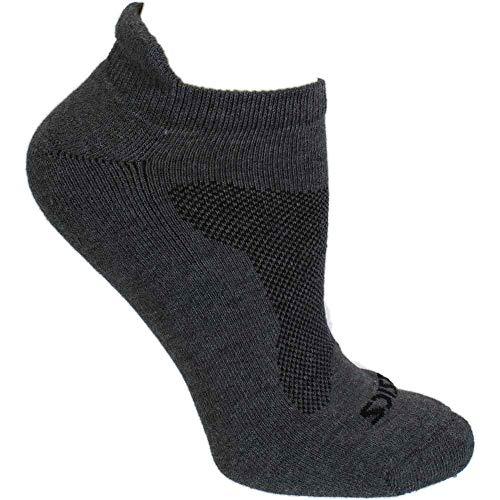 ASICS Mens Cushion Low Cut 3-Pack Running Athletic Socks Low Cut Grey L
