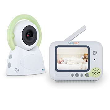 FLOUREON BM254 Wireless Digital Video Audio Baby Monitor Two Way Talk with Infrared Night Vision Camera