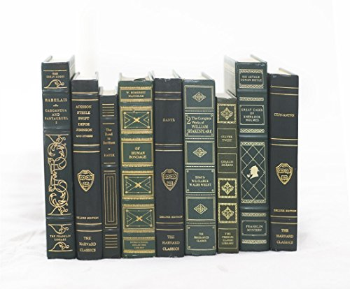 Decorative Books for Designers - Green with Gold Embossing, 12