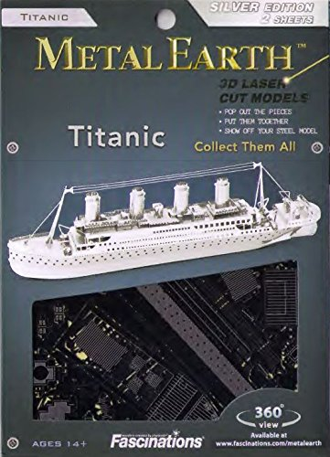 Fascinations Metal Earth Titanic Ship 3D Metal Model Kit