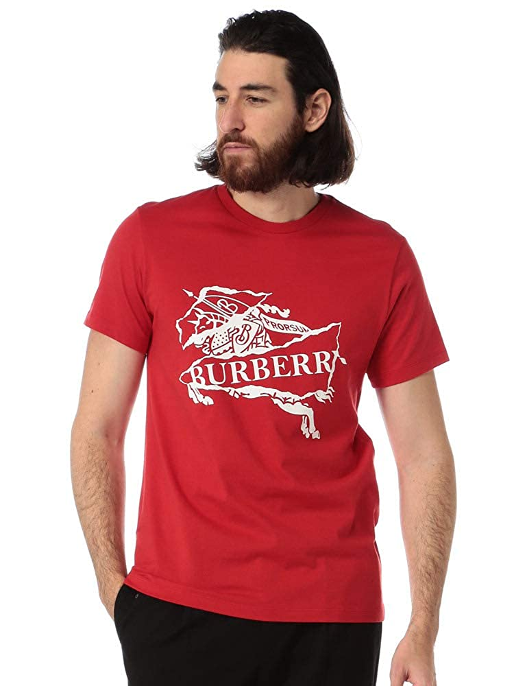 BURBERRY コラージュ ロゴプリント コットンTシャツ