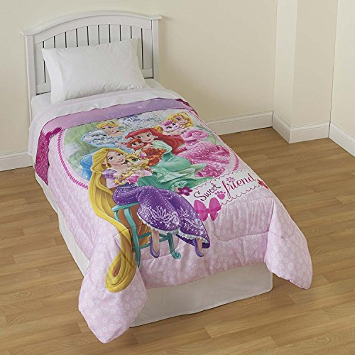 ce Pets Twin Size Reversible Comforter (Disney Princess Soft Sweet)