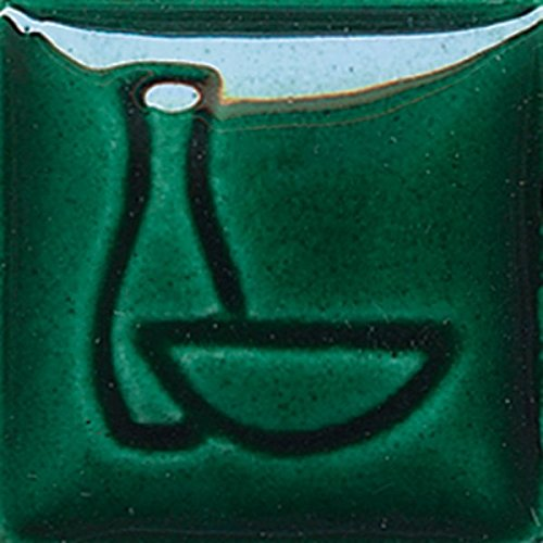Glaze Gallon - Duncan Envision Glazes - IN 1669 - Bottle Green - Gallon Bottle