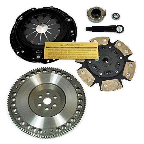 EFT Xtreme Stage 3 Clutch Kit &Flywheel for 92-05 Honda Civic D16Y7 D16Y8 D16Z6