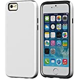 """iPhone 6 Case, Acase [Slim Shock Protection] iPhone 6 4.7"""" Case [White] - Extra Slim Fit Superleggera PRO Dual Layer Protection Case - Verizon, AT&T, Sprint, T-Mobile, International, and Unlocked - Case for Apple iPhone 6 4.7 Inch Late 2014 Model"""