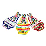 Alfie Pet by Petoga Couture - Alysia Diaper Dog Sanitary Pantie with Suspender 3-piece Set for Girl Dogs - Size: Large