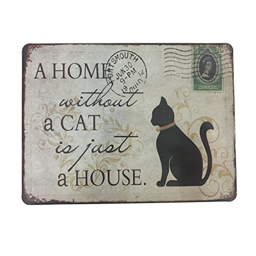 Wall Art Picture Wall Decor Hanging Metal Tin Sign Plaque