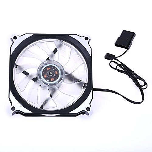 120mm 3Pin 4Pin PC Computer LED Cooling Brushless Fan ()