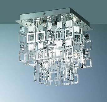 Lámpara de techo JULIA cromo 1 x E27 max, 60 W lámpara