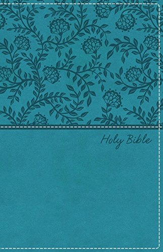 KJV, Deluxe Gift Bible, Leathersoft, Blue, Red Letter Edition, Comfort Print