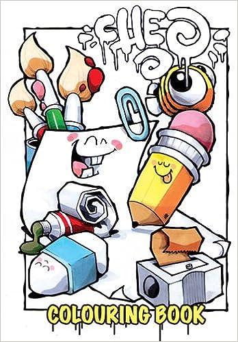 Amazon com the cheo colouring book bristol street art 9781906477301 cheo books