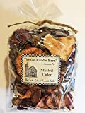 Mulled Cider Potpourri Large Bag - Perfect Fall Decoration or Bowl Filler - Beautiful Autumn Apple Scent