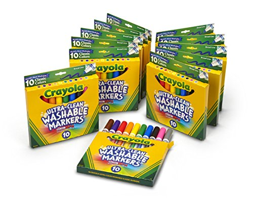 Crayola Ultra Clean Washable Markers Broad product image