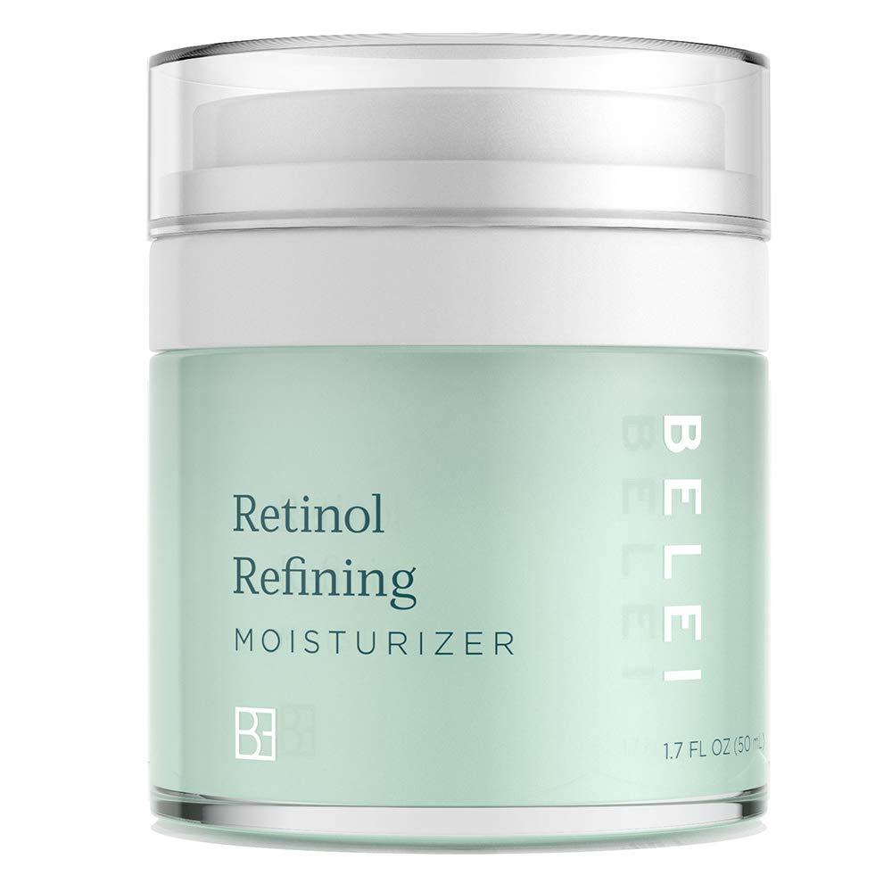 Belei Retinol Vitamin A Refining Moisturizer, Fragrance Free, Paraben Free, 1.7 Fluid Ounce (50 mL) by Belei