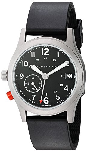 - Momentum Women's Swiss Quartz Titanium Dress Watch, Color:Grey (Model: 1M-SP61B1B)