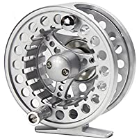 Croch Fly Fishing Reel with Aluminum Alloy Body + 100FT...