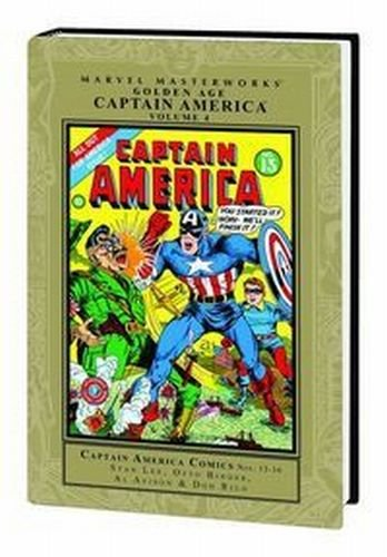 Marvel Masterworks, Golden Age: Captain America, Vol. 4