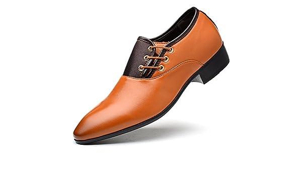 Xue Zapatos de Piel de Hombre Primavera Verano Mocasines Mocasines y Slip-On Zapatillas de guía Oxfords Casual Transpirable Comfort Party & Evening Trabajo ...