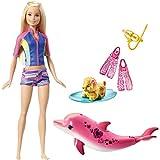 Barbie Dolphin Magic Snorkel Fun Friends Set