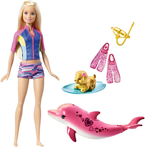 Barbie Dolphin Magic Snorkel Fun Friends Playset from Barbie