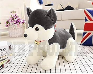 Triad basics NB Plush Phoenix Husky Dog Soft Toy, 40 cm (Grey)