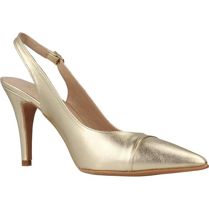 Plateado Modelo Marca Color De Tacón Zapatos Joni xTvnt1W6