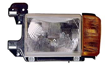 F Series Left Side Headlight W//O Bright Trim For 1987-1991 Ford Bronco