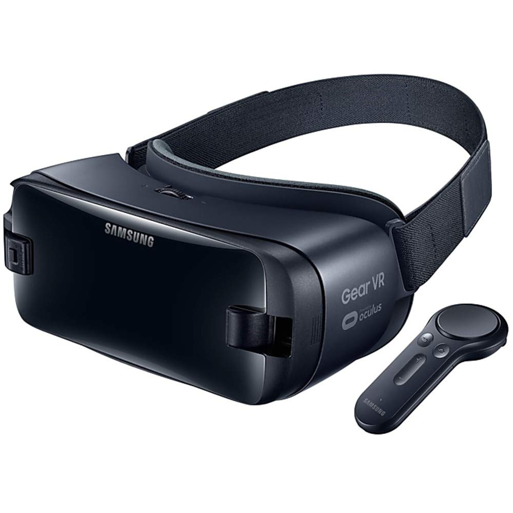 Samsung Gear VR 2019 with Controller SM-R325, Compatible with Galaxy S10e, S10, S10+, Note9, Note8, Note5, S9, S9+, S8, S8+, S7, S6 - International Version (Orchid Gray)